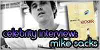 Celebrity Interview: Mike Sacks