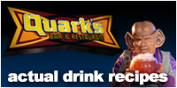 Quark's Bar Drink Recipes