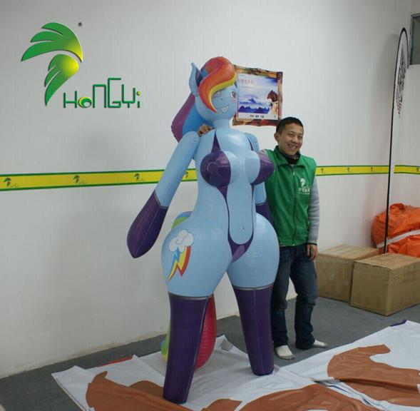 Geek Shock #271 – Sexy Inflatable Girl Pony
